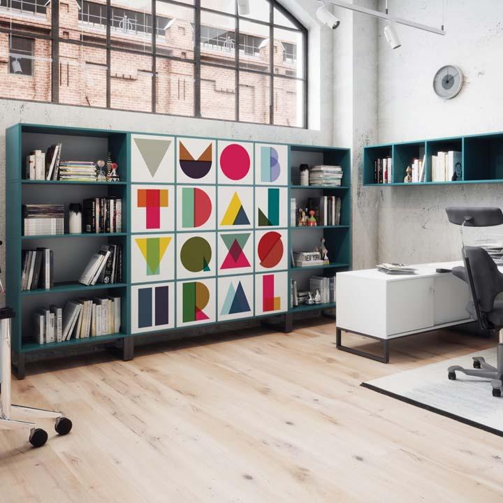 Engedd szabadjára a fantáziád és varázsold egyedivé az irodabútoraidat!